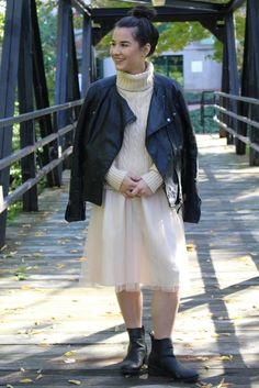 Midi Skirt + Leather | The Gold Dime