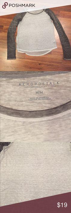🐘 Aeropostale Top Aeropostale Top. Slightly sheer, size medium. Aeropostale Tops Tees - Long Sleeve