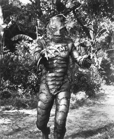 The creature from the black lagoon!