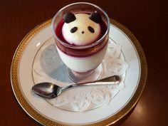 panda blood bath dessert style