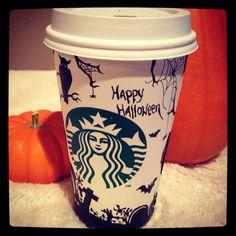 Starbucks Halloween Cup