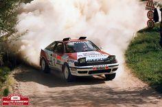 Rallye Sanremo 1990 - Carlos Sainz - Moya - Toyota Celica, via Flickr.