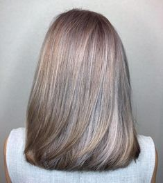 Contrasting silver lights peeking out of its antique gold base. By Director Gary… Contrasting silver lights peeking out of its antique gold base. By Director Gary Chew and at 313 Somerset! Silver Hair Highlights, Brown Hair Balayage, White Highlights, Highlights For Greying Hair, Grey Hair Lowlights, Medium Hair Styles, Natural Hair Styles, Short Hair Styles, Grey Hair Wig