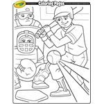 Sports | Free Coloring Pages | crayola.com
