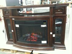 Media Console Infrared Fireplace Costco 6 | My Work | Pinterest ...