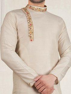 Wedding Kurta For Men, Wedding Dresses Men Indian, Wedding Dress Men, Kurta Pajama Men, Kurta Men, Mens Sherwani, Gents Kurta Design, Boys Kurta Design, Indian Men Fashion