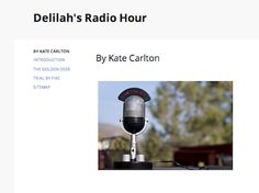 Delilah's Radio Hour Who better to help the lovelorn couple Rama and Sita than the famous radio show host, Delilah? LINK: https://sites.google.com/site/delilahsradiohour/