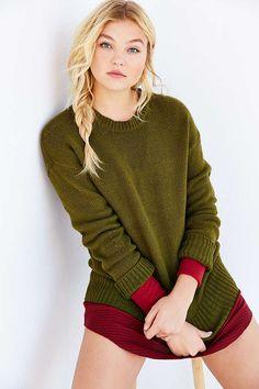 BDG Boyfriend Sweater - Urban Outfitters
