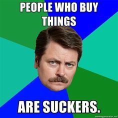 How to Ron Swanson Your Life and Save $100 a Month - The Empowered Dollar