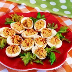 Heavenly Eggs - Deviled Eggs - Easy Snack Recipes - Delish