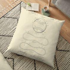 Vintage Baseball Pillows & Cushions   Redbubble Daybed Pillows, Cushions, Throw Pillows, Baseball, Tote Bag, Bags, Vintage, Design