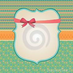 Invitation Card Background, Border Frame Patterns Stock Photography - Image: 36122082