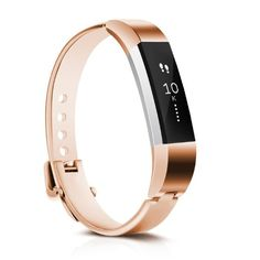 CreateGreat Replacement Accessory Metal Bracelet Band for Fitbit Alta,Silver ,Rose Gold