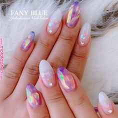 What Christmas manicure to choose for a festive mood - My Nails Almond Acrylic Nails, Best Acrylic Nails, Almond Nail Art, Hair And Nails, My Nails, Kawaii Nails, Manicure E Pedicure, Pretty Nail Art, Dream Nails