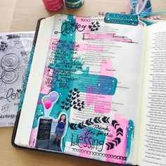 See this Instagram photo by @faithinlight • bible art journaling