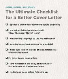 cover letter stand out