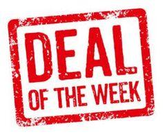 Matt @ #Ninja Supply believes in deals! Check out his #DealOfTheWeek! http://dld.bz/ffdYR