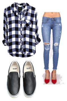 """""""Untitled ø #99"""" by fatyhnrqz94 ❤ liked on Polyvore featuring Vans"""