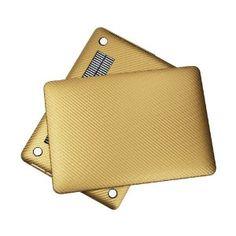 "Amazon.com: Osaka HardRock series Gold carbon / graphite fiber pattern Hard Case / Cover / Shell for newest 13"" RETINA MacBook Pro Aluminum ..."