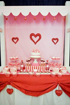 Kid's Valentine Party by Jen Carver of Banner Events - Pink Peppermint Design