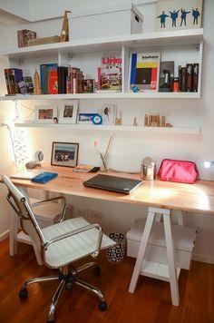 Ideas for the house on pinterest benjamin moore floor - Mesa de trabajo ikea ...