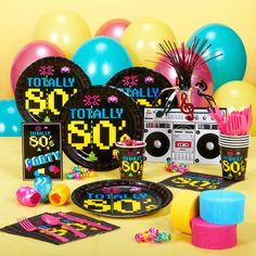 I want an 80s birthday party!!!!
