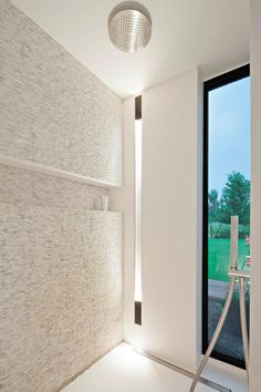 Bathroom with a view, residential project in Lier by Dennis T'Jampens _