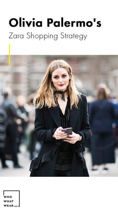 Olivia Palermo shares her strategy for shopping at Zara when traveling