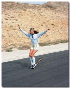 Girls skating in the 70s #iso50 #skate