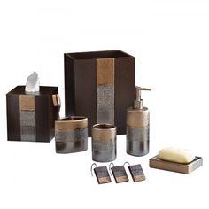 Portland Bathroom Collection #croscillsocial #metallic #accessories