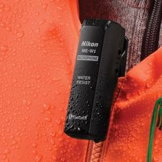 Il nuovo microfono wireless #Nikon ME-W1