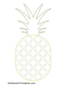 LOTS of great dot marker printables; cross, fruit, etc. Summer Preschool Themes, Summer Activities For Kids, Color Activities, Preschool Crafts, Crafts For Kids, Kindergarten Coloring Pages, Do A Dot, Fruit Of The Spirit, Preschool Printables