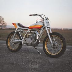 Yamaha DT 250 1975 by One Down Four Up