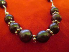 Perlas negras y accesorios en plata