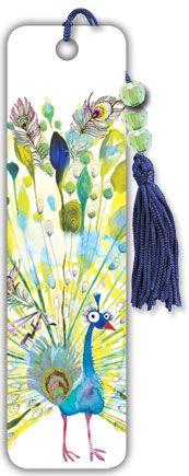 Masha Peacock beaded bookmark - Trends International #funaccessories