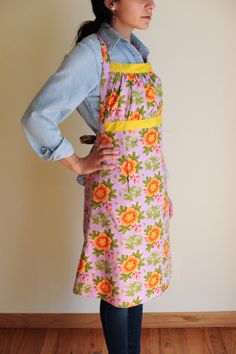 Reversible Apron. $51.15 USD. Made by our talented refugee artisans at We Made This. Get one at www.etsy.com/shop/wemadethisdenver