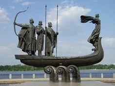 Кий, Щек, Хорив. Київ,  В. Бородай.