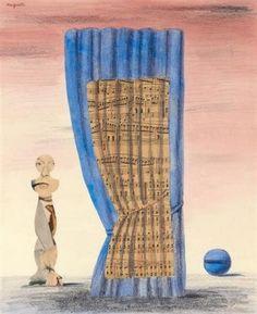 René Magritte - L'Esprit et la Forme, 1961