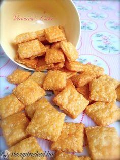 A legjobb Sajtos kréker recept fotóval egyenesen a Receptneked.hu gyűjteményéből. Küldte: Magyarné Fekete Veronika