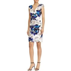 Nwt Ralph Lauren Flowered Dress