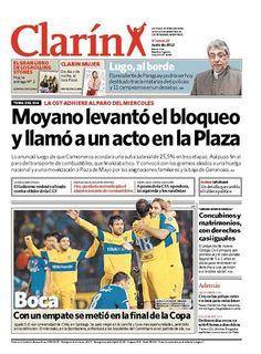 Moyano levantó el bloqueo y llamó a un acto en la Plaza. Más información: http://www.clarin.com/politica/Moyano-acorto-marcha-Plaza-Mayo_0_723527684.html