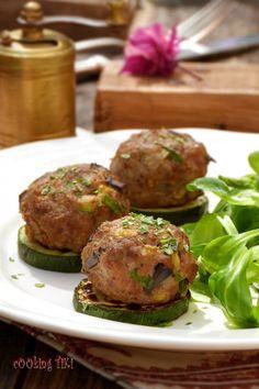 Кюфтета с месо и зеленчуци
