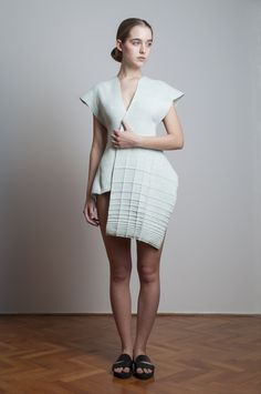 checked knitwear - Adrienna Nagy -2014-