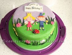 Coolest Ben and Holly Birthday Cake... This website is the Pinterest of birthday cake ideas
