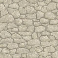 Grey Boundry Stone Wallpaper #: BBC49437 from Borders by Chesapeake. NonVinyl, Half Drop Match. This pattern looks great for fireplace areas. Many like to use it as a kitchen backsplash as well.