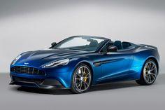 2014 Aston Martin Vanquish Volante drops its mind-blowingly beautiful top