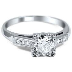 The Tivona Ring #BrilliantEarth #Vintage