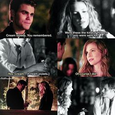 #TVD 7x03 & 7x09 - Stefan and Valerie