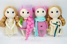 Amigurumi Crochet Dolls Free Pattern