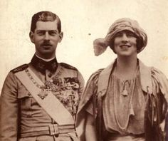 Carol & Helen in 1921 Romanian Royal Family, Queen Sophia, Royal Engagement, Civil Ceremony, Red Army, Ferdinand, World War I, Back In The Day, Reign